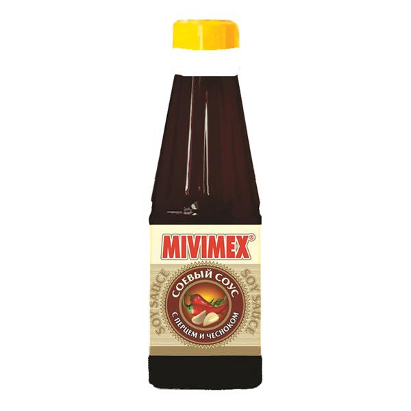 Соус «MIVIMEX» соевый c перцем и чесноком