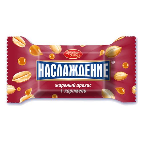 Конфеты «Наслаждение» с карамелью и жареным арахисом