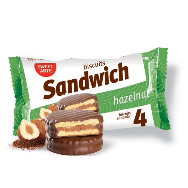 Печенье «Sandwich Hazelnut»
