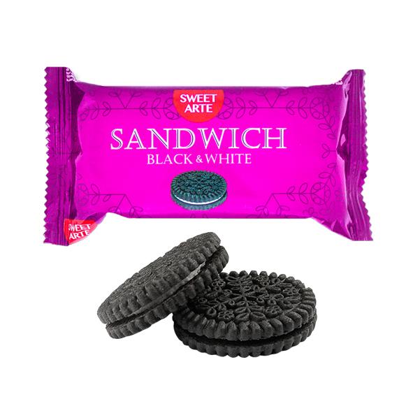 "Печенье сахарное ""Sandwich Black & White"""