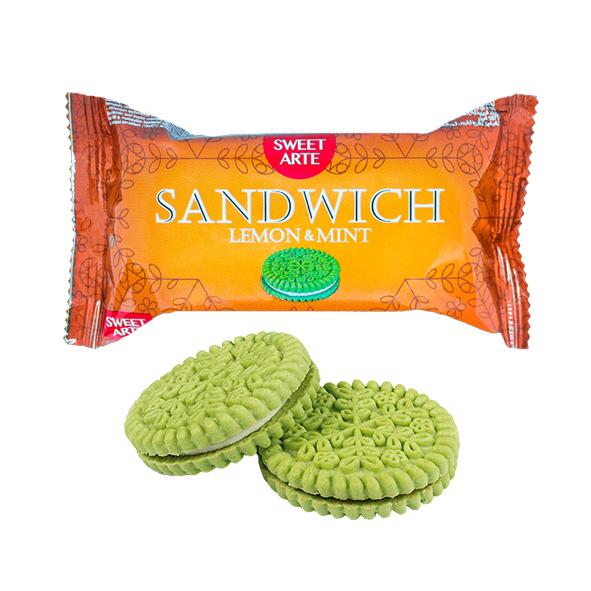 "Печенье сахарное ""Sandwich Lemon & Mint"""