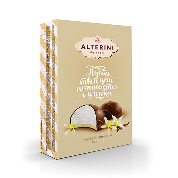 """Десерт """"Alterini"""" с ароматом ванили"""